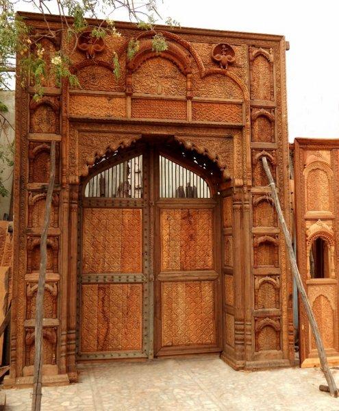 Antique Doors - Indian Home Art