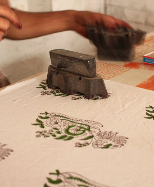 Indian Block Stamp - Indian Home Art