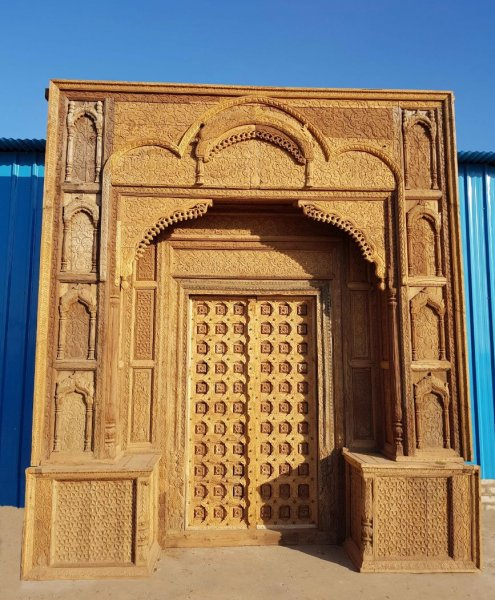 Main Antique Doors & Arches - Indian Home Art