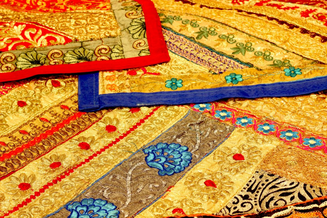 Zari Embroidery - Indian Home Art