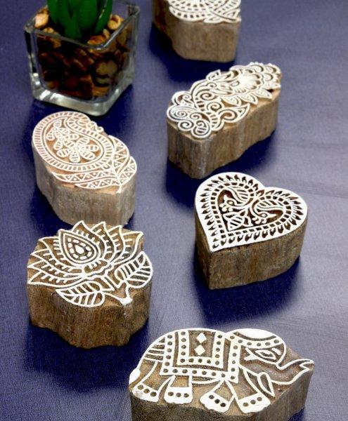 Indian Block Stamp - Indian Home Art