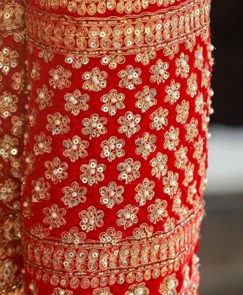 Zari Embroidery - Indian Home Art