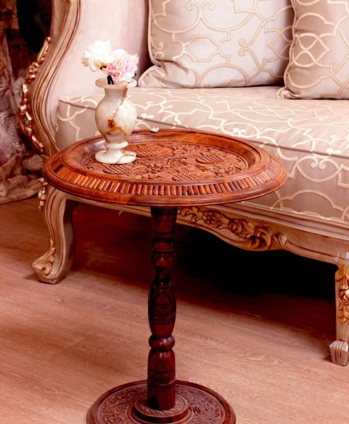 Hand-carved Furniture - Indian Home Art